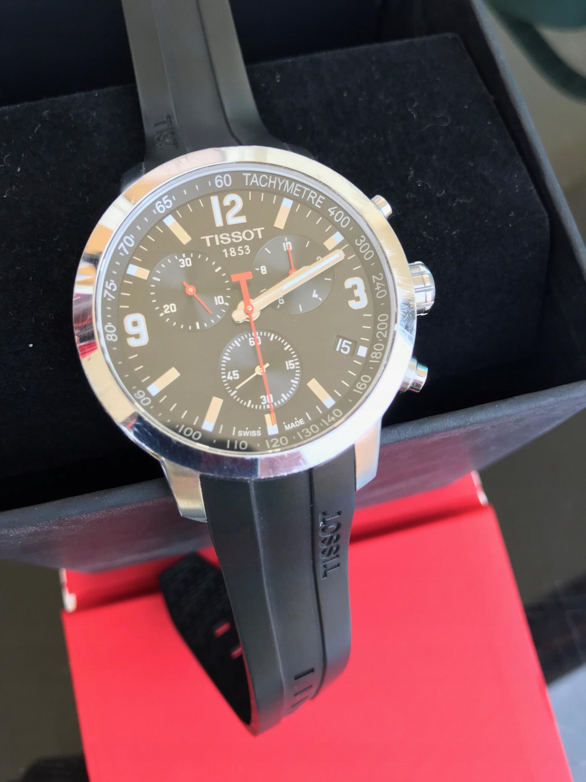 Zegarek męski TISSOT PRC 200 Chronograph T055417A