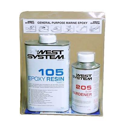 Żywica i utrwadzacze West System A-pack (105+205)