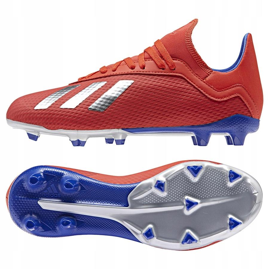 Buty adidas X 18.3 FG czerwony 31!