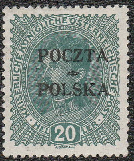 1919 WYDANIE KRAKOWSKIE 20 HALERZY