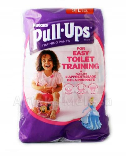 HUGGIES PULL UPS pieluchomajtki Disney L 10 szt