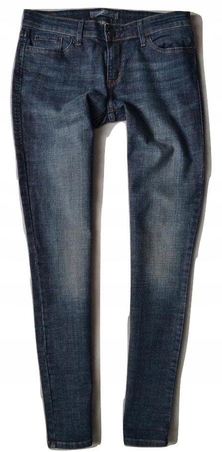 LEVIS Jeans Spodnie Dzinsy Damskie SKINNY Rurki 29