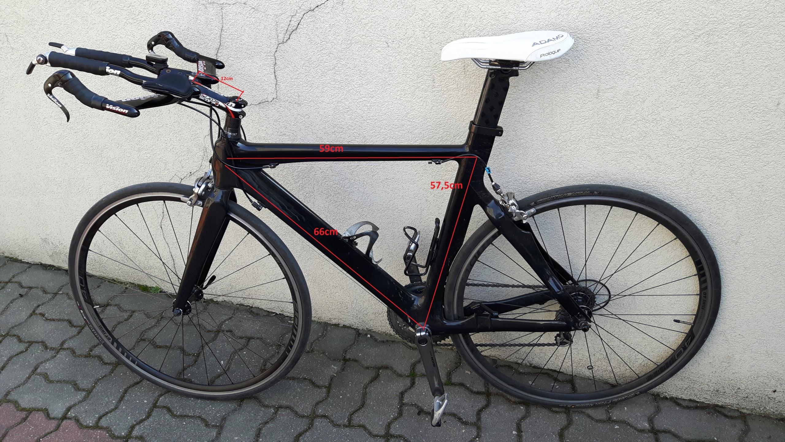 Rower triathlon karbon Stevens