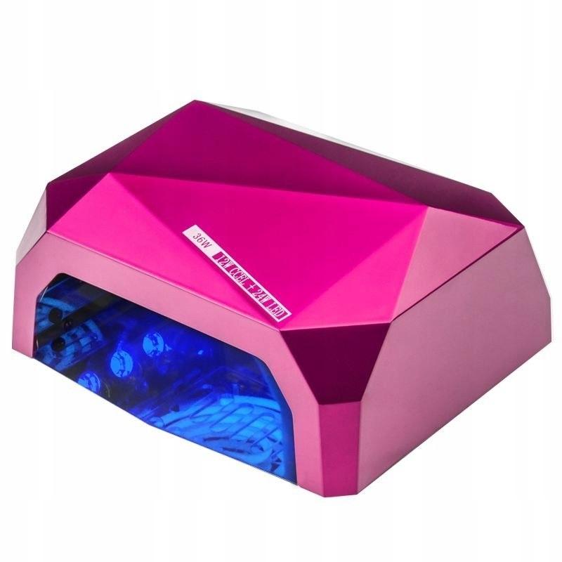 LAMPA DIAMOND 2w1 UV LED+CCFL 36W TIMER + SENSOR P