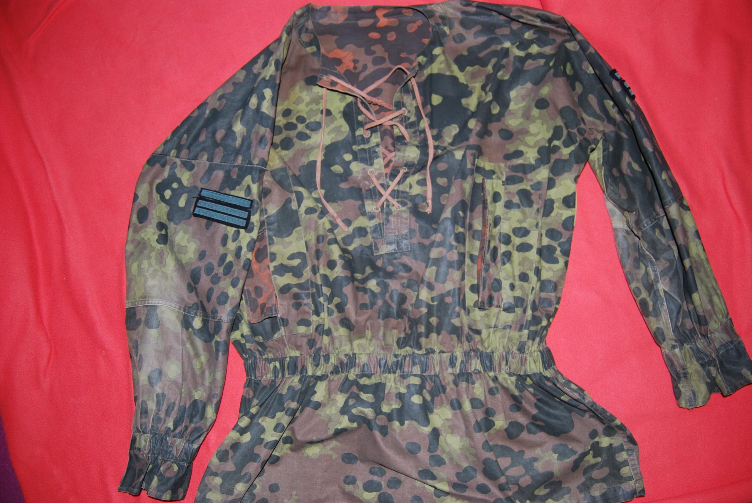 bluza maskująca SS platan