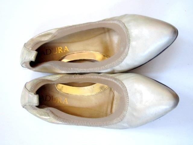 baleriny BADURA ROZ 36 ZŁOTE