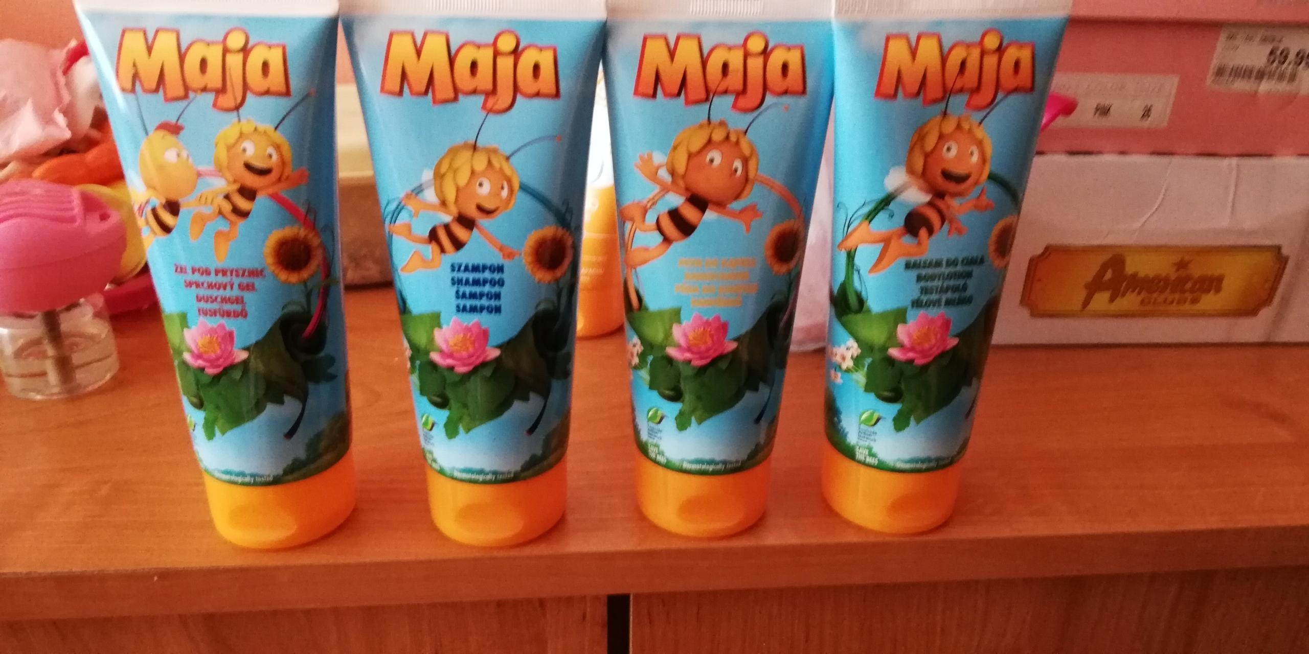 Zestaw 4 kosmetyków Pszczółka Maja
