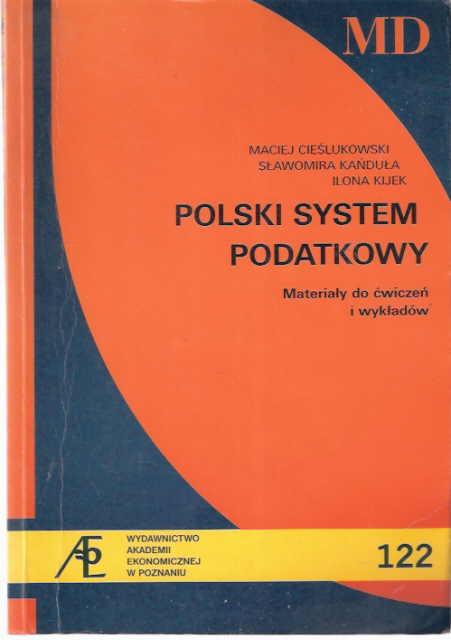 Polski system podatkowy Cieślukowski