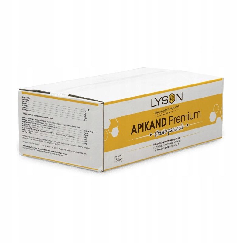 Apikand Premium ciasto - opakowanie 15kg Łysoń