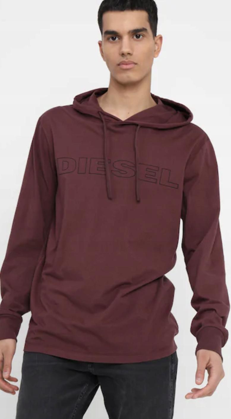 Bluza Diesel z bawełny - nowa, nietrafiony prezent