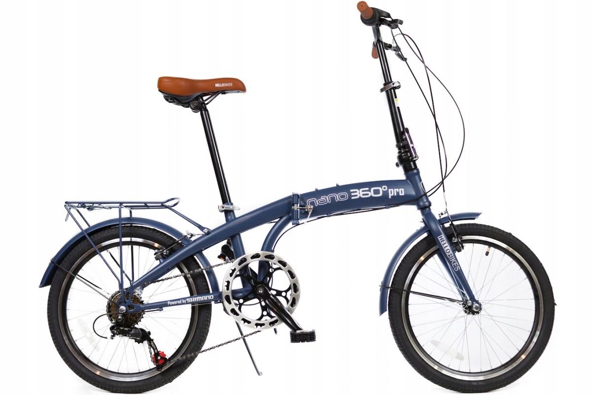 Rower składany NANO 360 miejski składak turystyczn