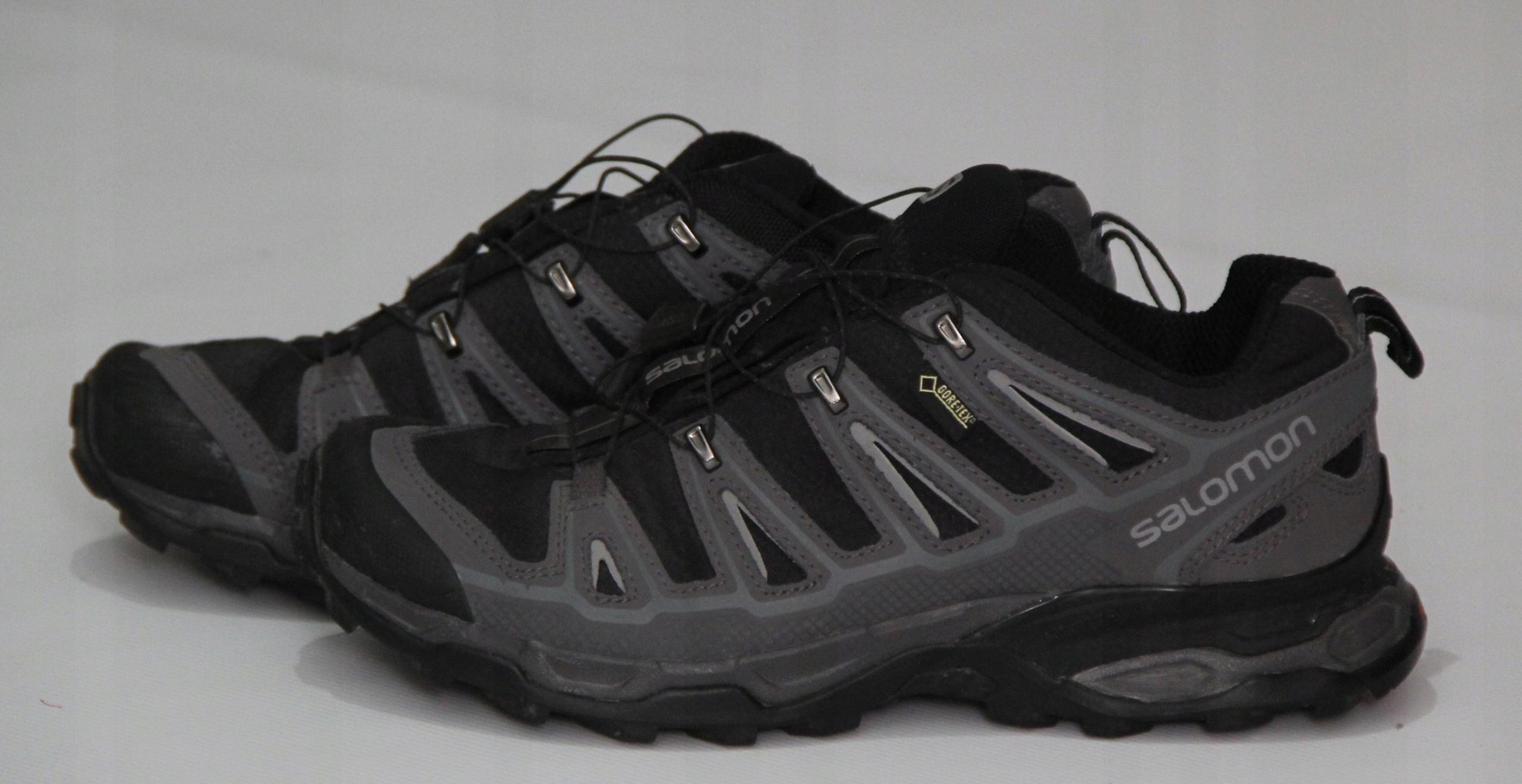 Męskie Buty Sportowe Salomon Gore Tex 42