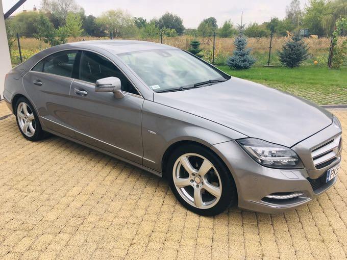 Mercedes Benz CLS C218 2011 rok zadbany