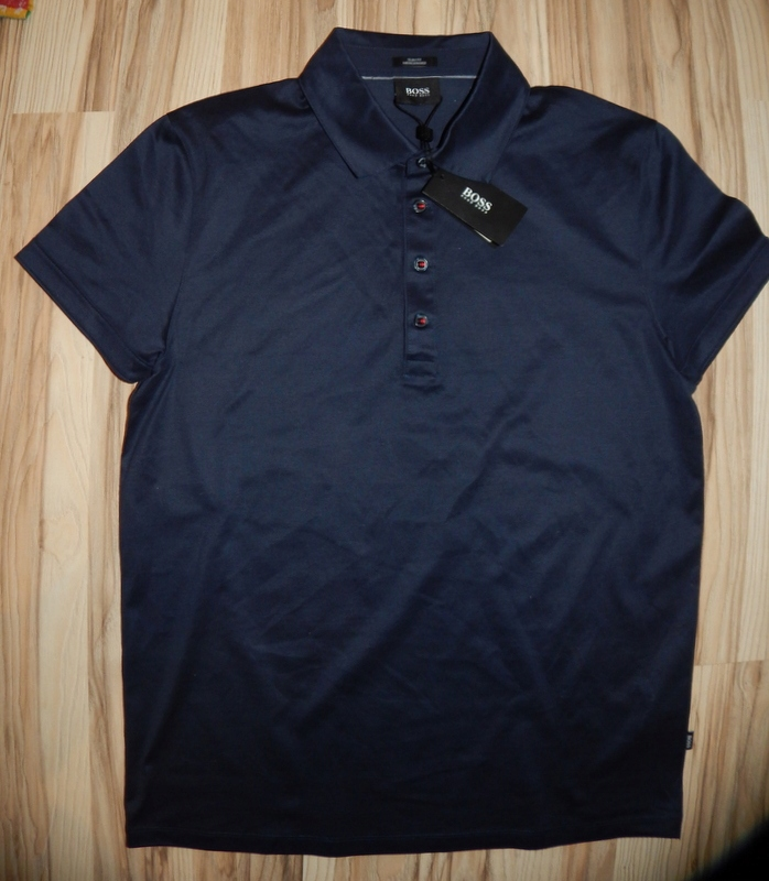 Polo HUGO BOSS MERCERISED SLIM FIT roz. M NOWA