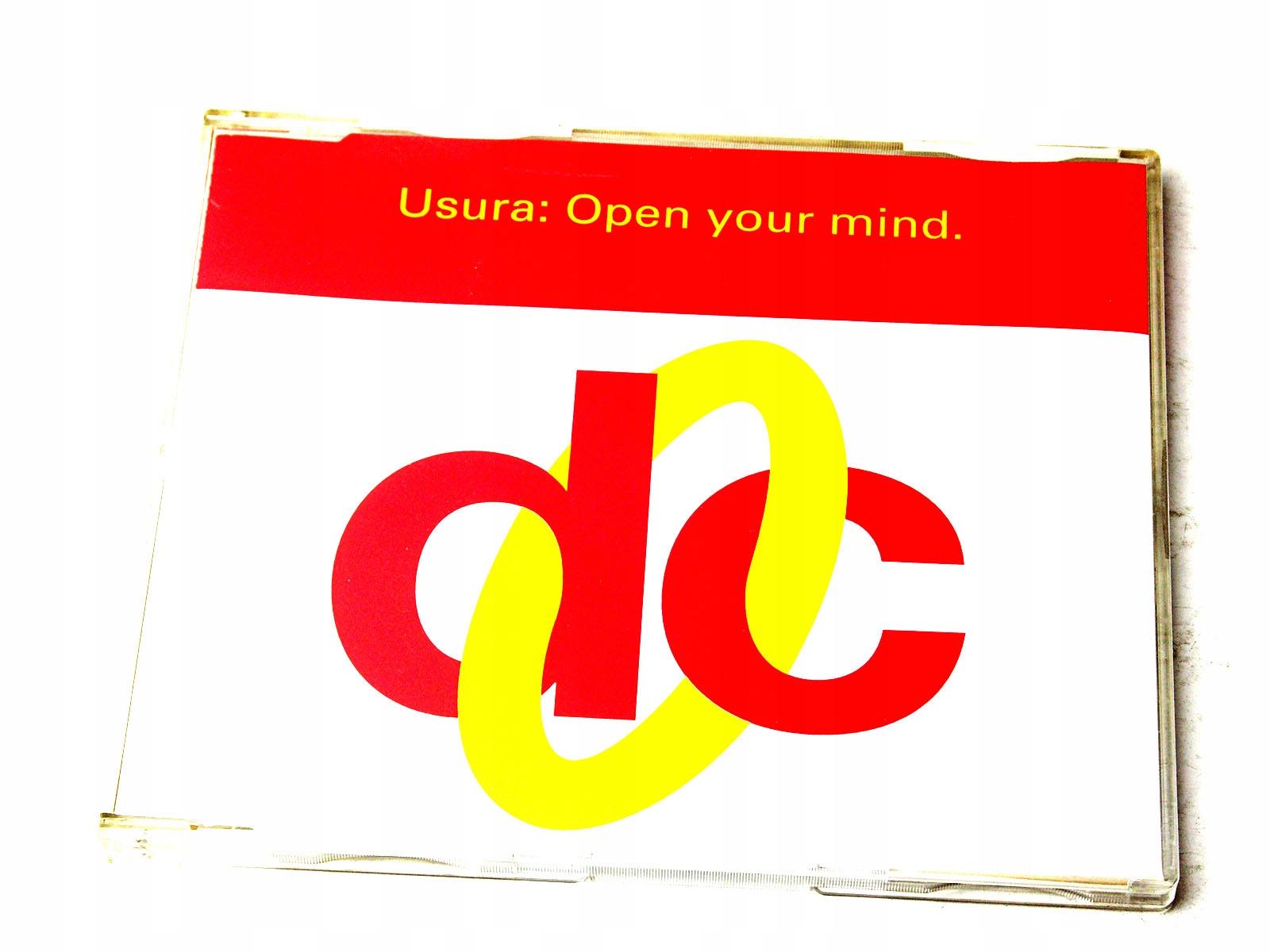 USURA* - OPEN YOUR MIND [MAXI CD]