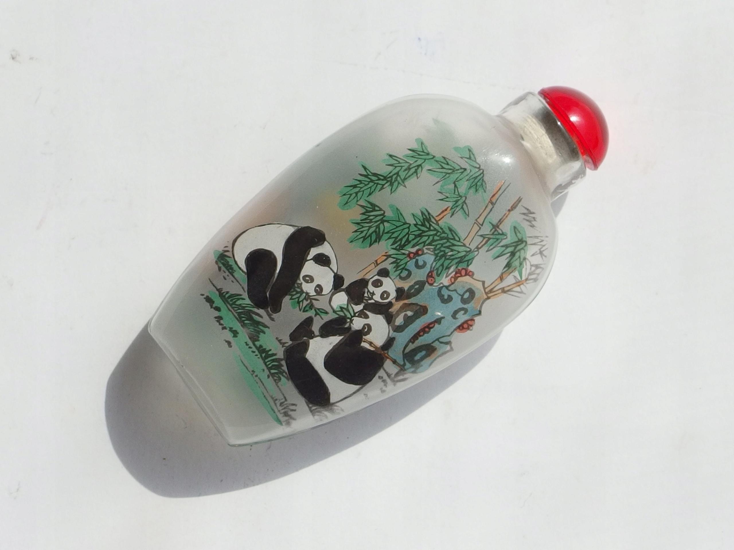 Ręcznie Malowany Flakon Chiny