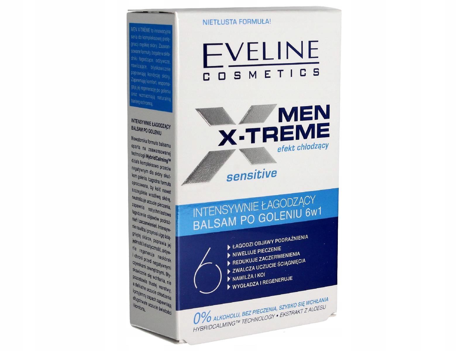 Eveline Men X-Treme 6w1 Balsam po goleniu 100ml