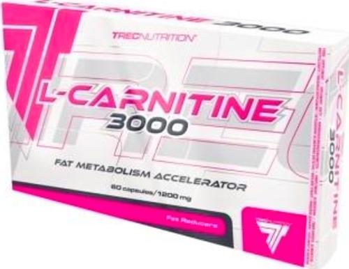 TREC L-CARNITINE 3000mg KARNITYNA 60k ODCHUDZANIE