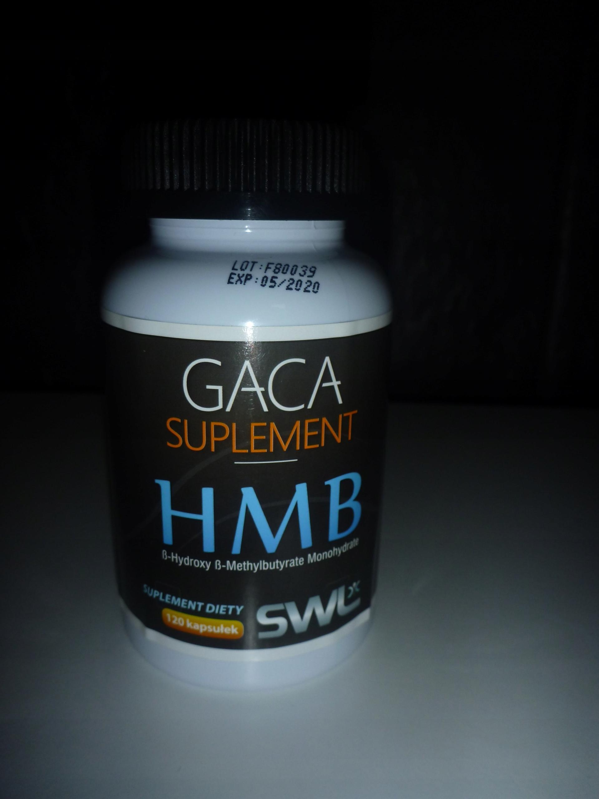 GACA SYSTEM HMB SPALACZ TŁUSZCZU na metabolizm