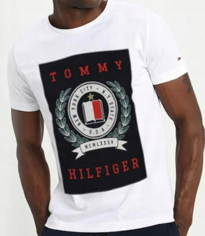 Nowa koszulka t-shirt Tommy Hilfiger roz M