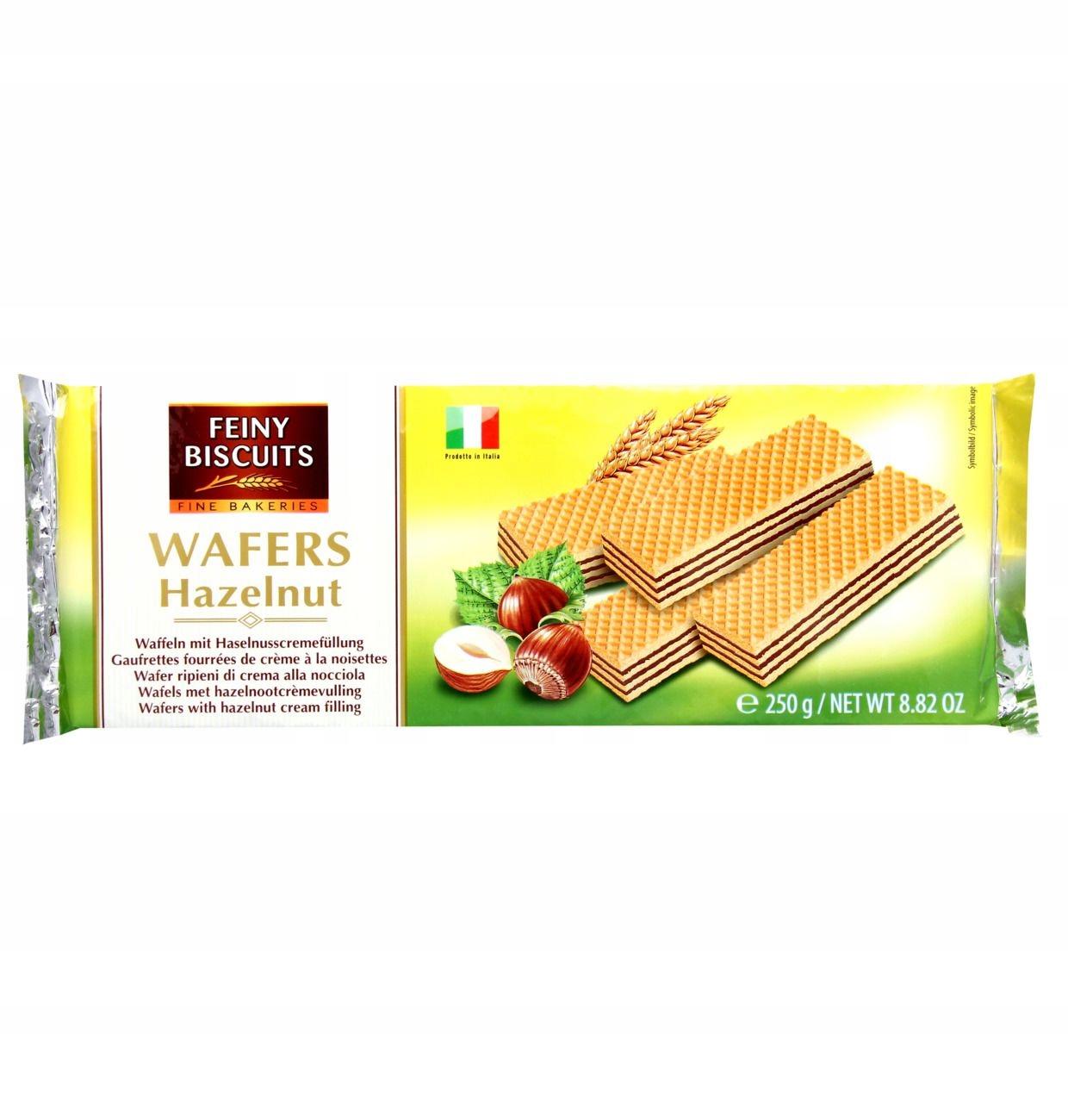 Wafers Hazelnut Wafle Orzechowe 250 g