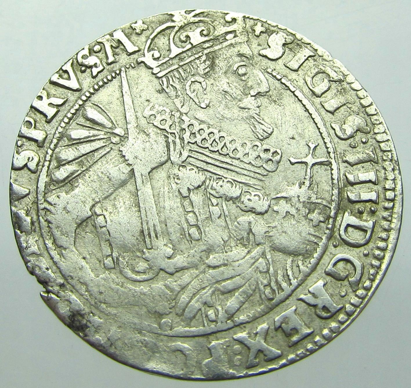 Zygmunt III Waza Ort 1624 r. Bydgoszcz PRVSM