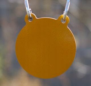 Tarcza metalowa stalowa gong poper cel metalowy 4