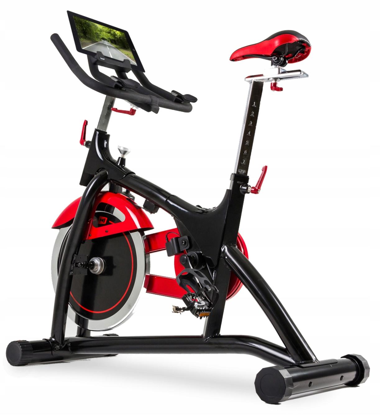 Rower spiningowy z wolnym biegiem HS-085IC Gravity