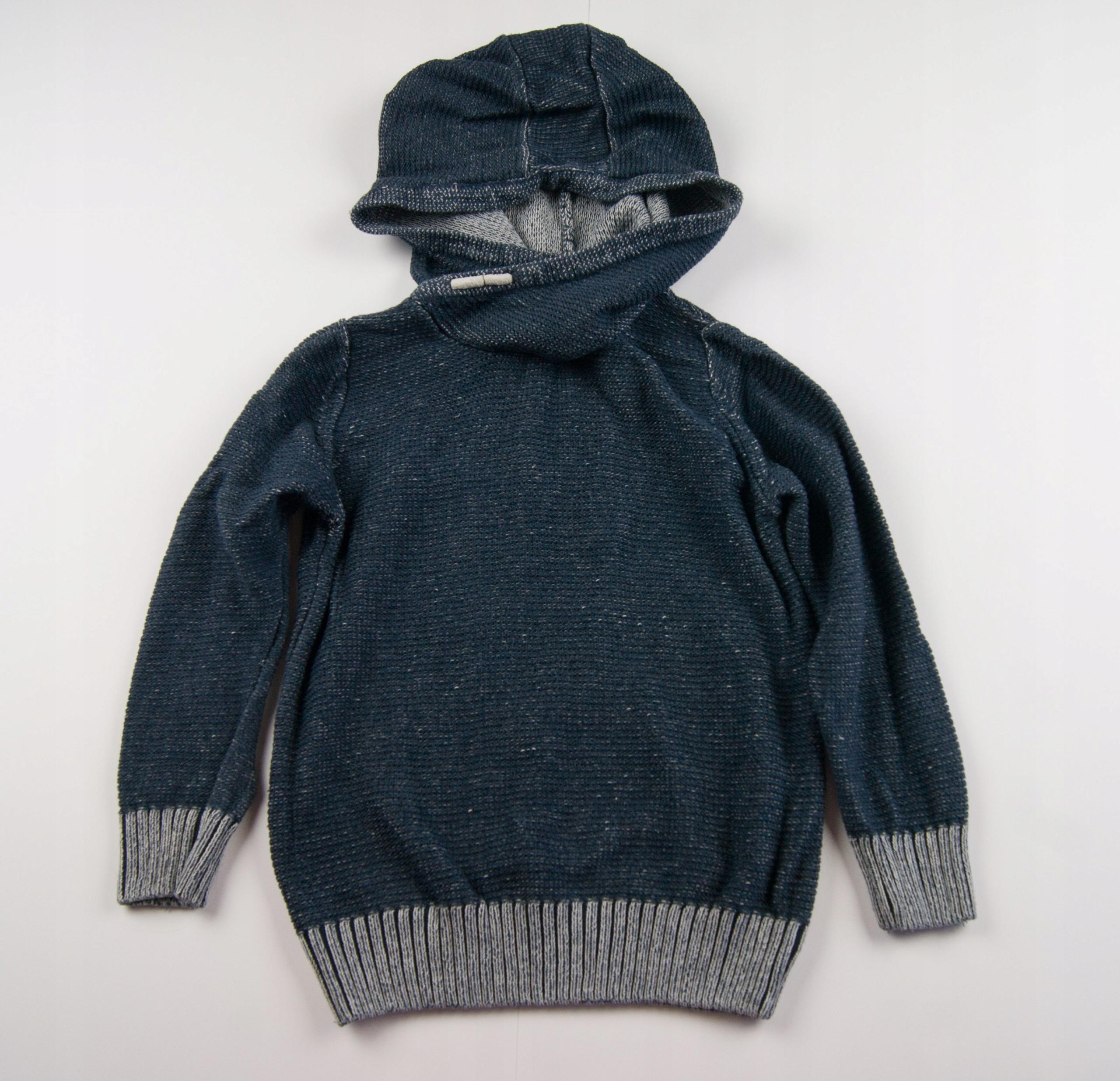 REBEL 104 Sweter z kapturem 3-4 lata