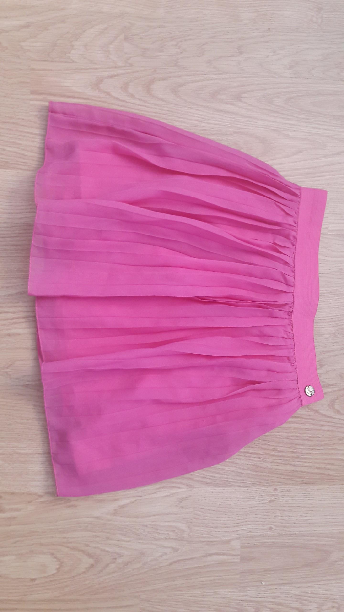 Różowa plisowana spódnica COOL CLUB rozm. 140