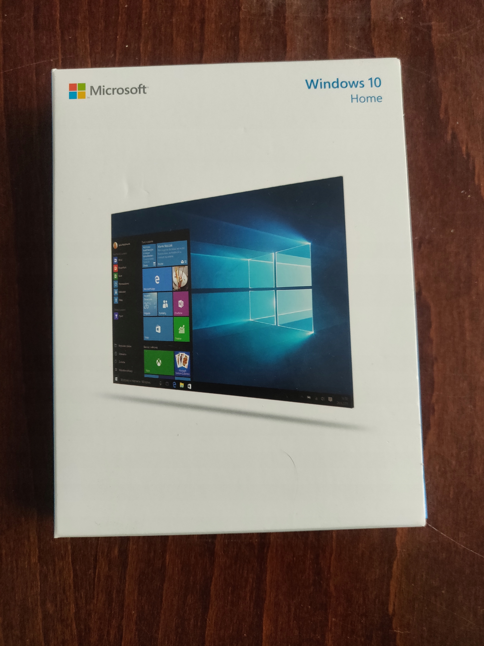Windows 10 HOME box PL USB