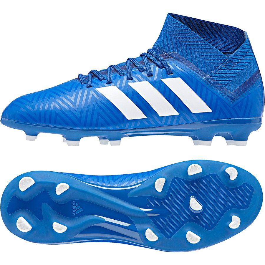 Buty adidas Nemeziz 18.3 FG J DB2351 34 niebieski