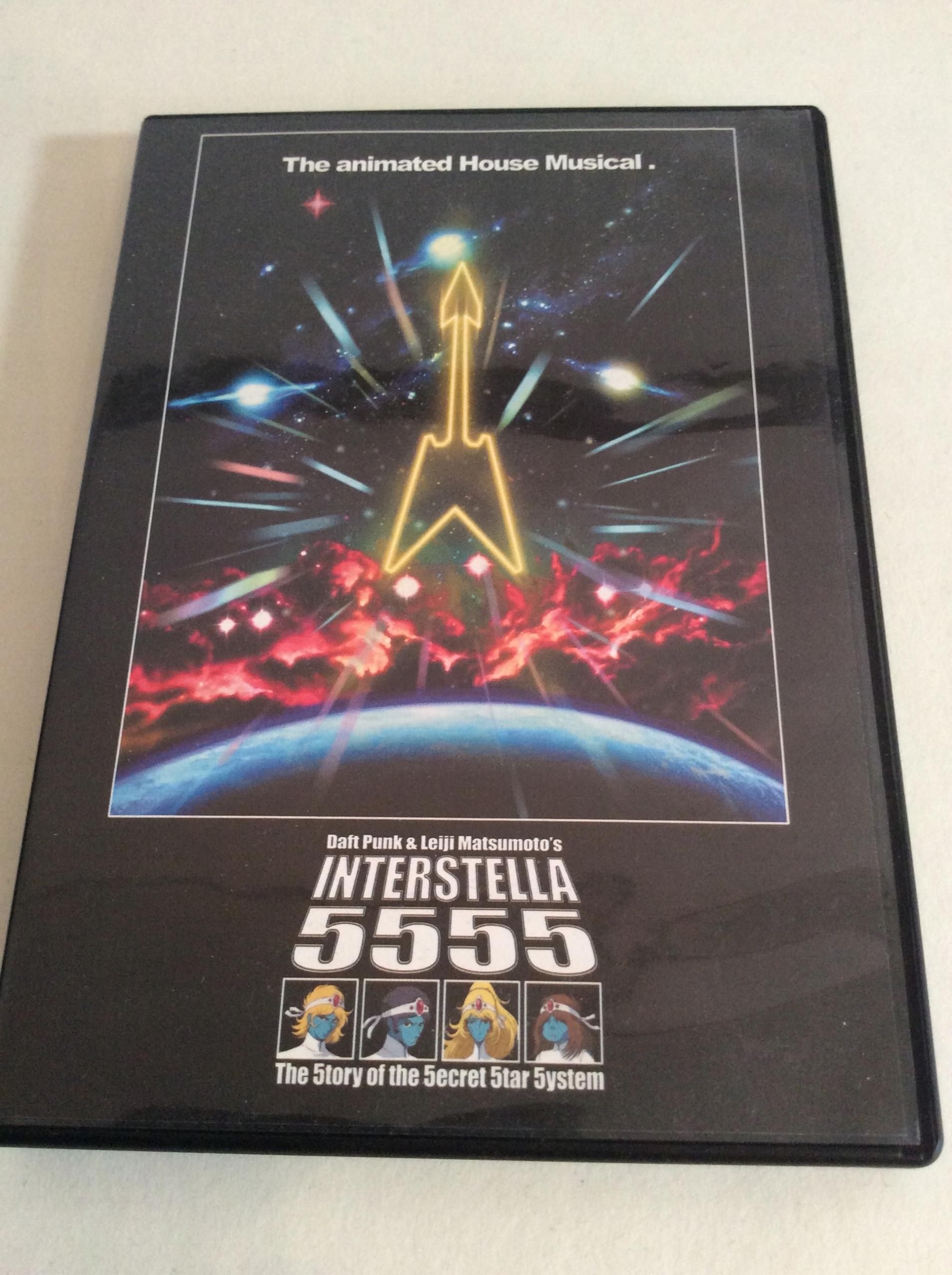 DAFT PUNK Interstella 5555 Leiji Matsumoto