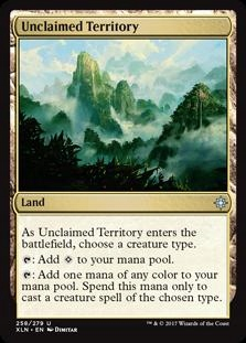 MTG: Unclaimed Territory [GamesMasters]