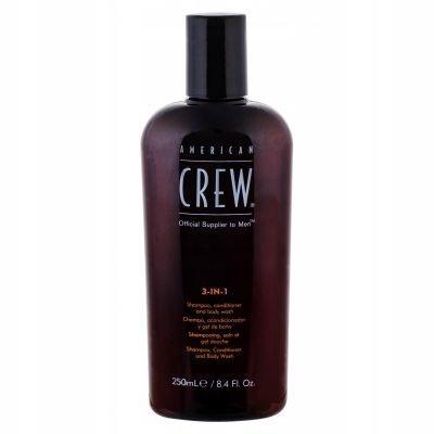 American Crew 3-IN-1 Shampoo, Conditioner 250 ml