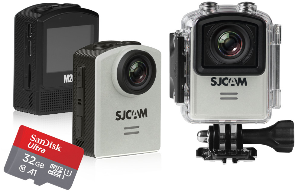 KAMERA SPORT SJCAM M20 4K SONY WIFI GYRO PL +32GB