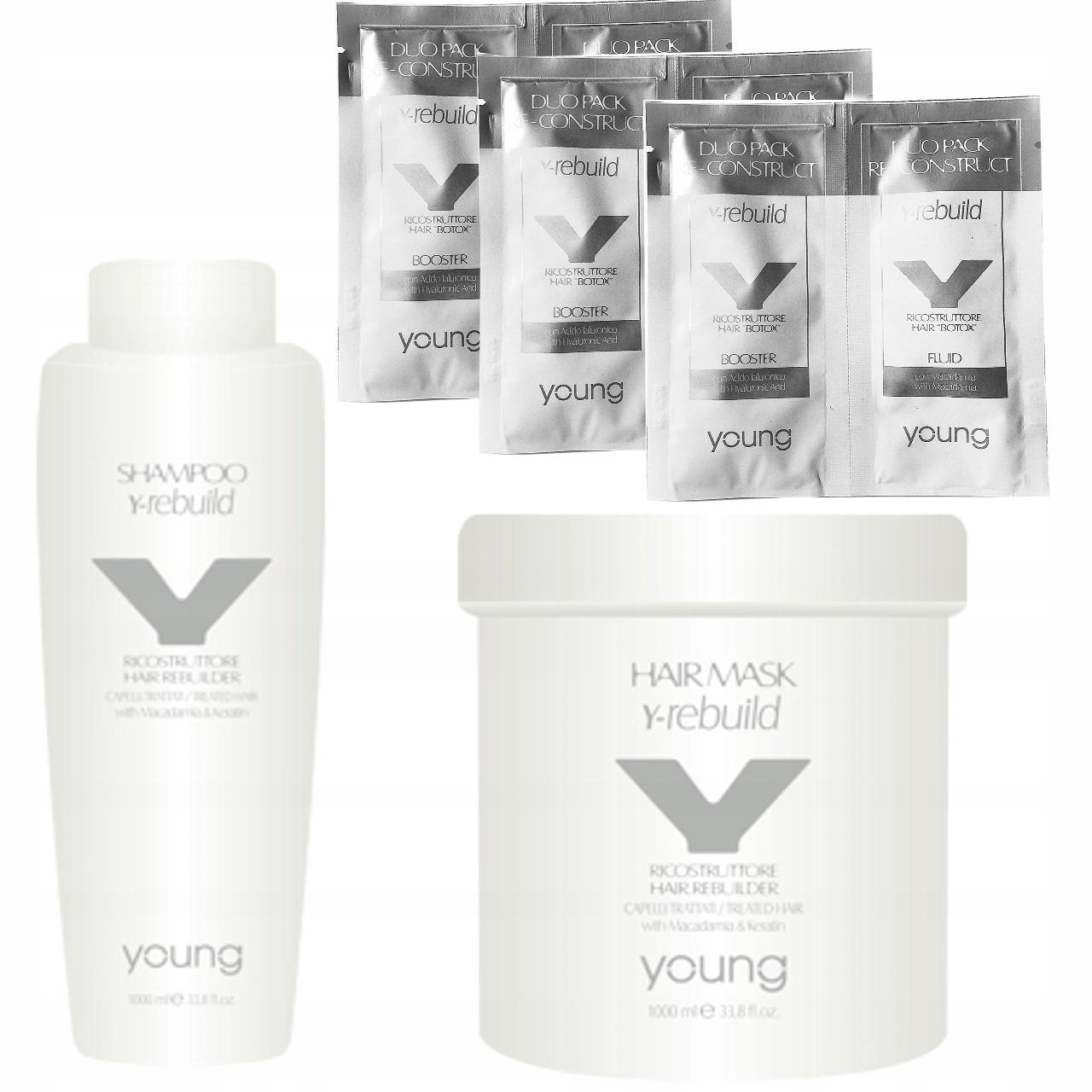YOUNG Y-Rebuild zabieg odmładzający BOTOX na włosy