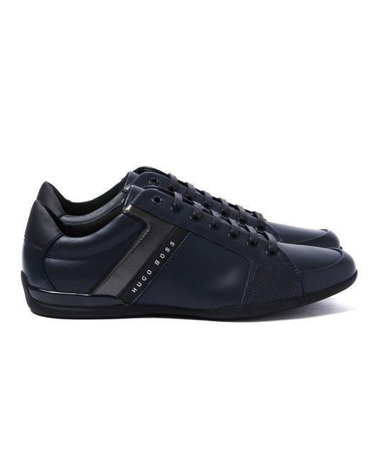 HUGO BOSS męskie buty sneakersy NOWOŚĆ BLUE %%% 41