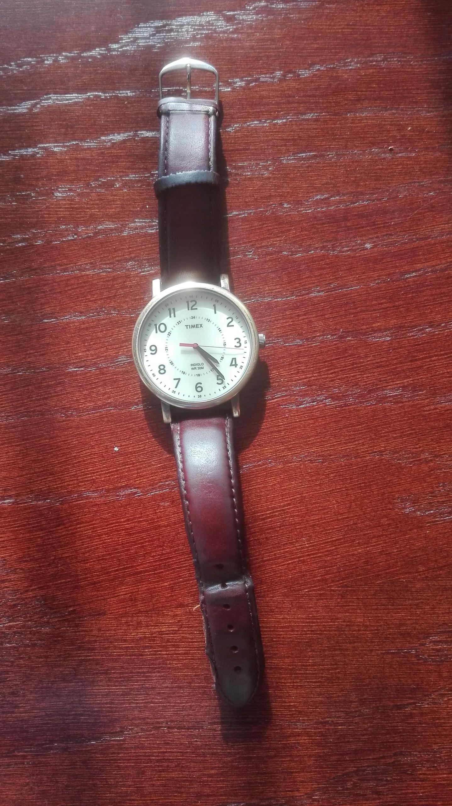 Zegarek podświetlany Timex Indiglo WR 30M