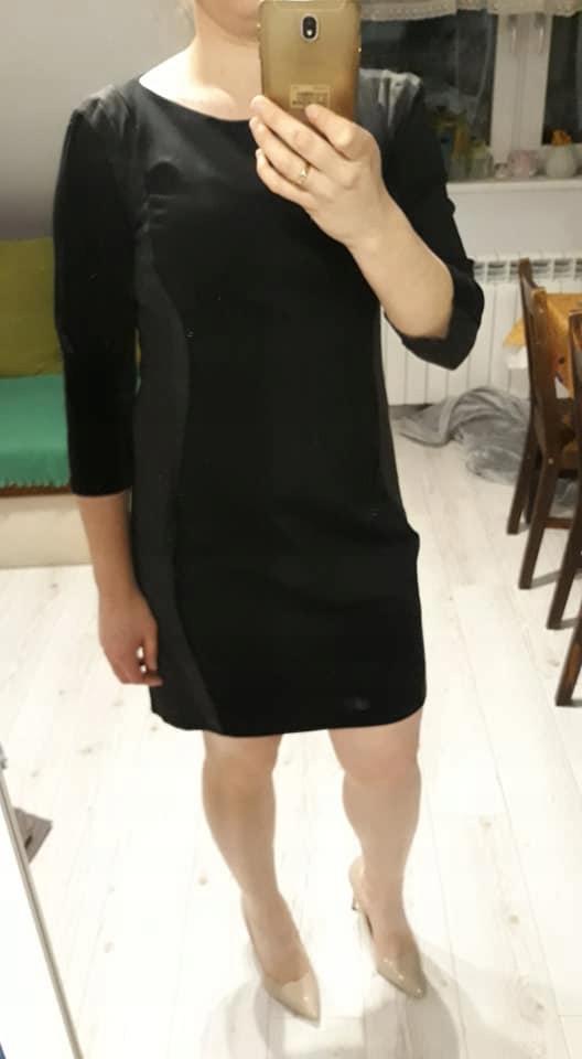 H&M dzianinowa sukienka mega _38