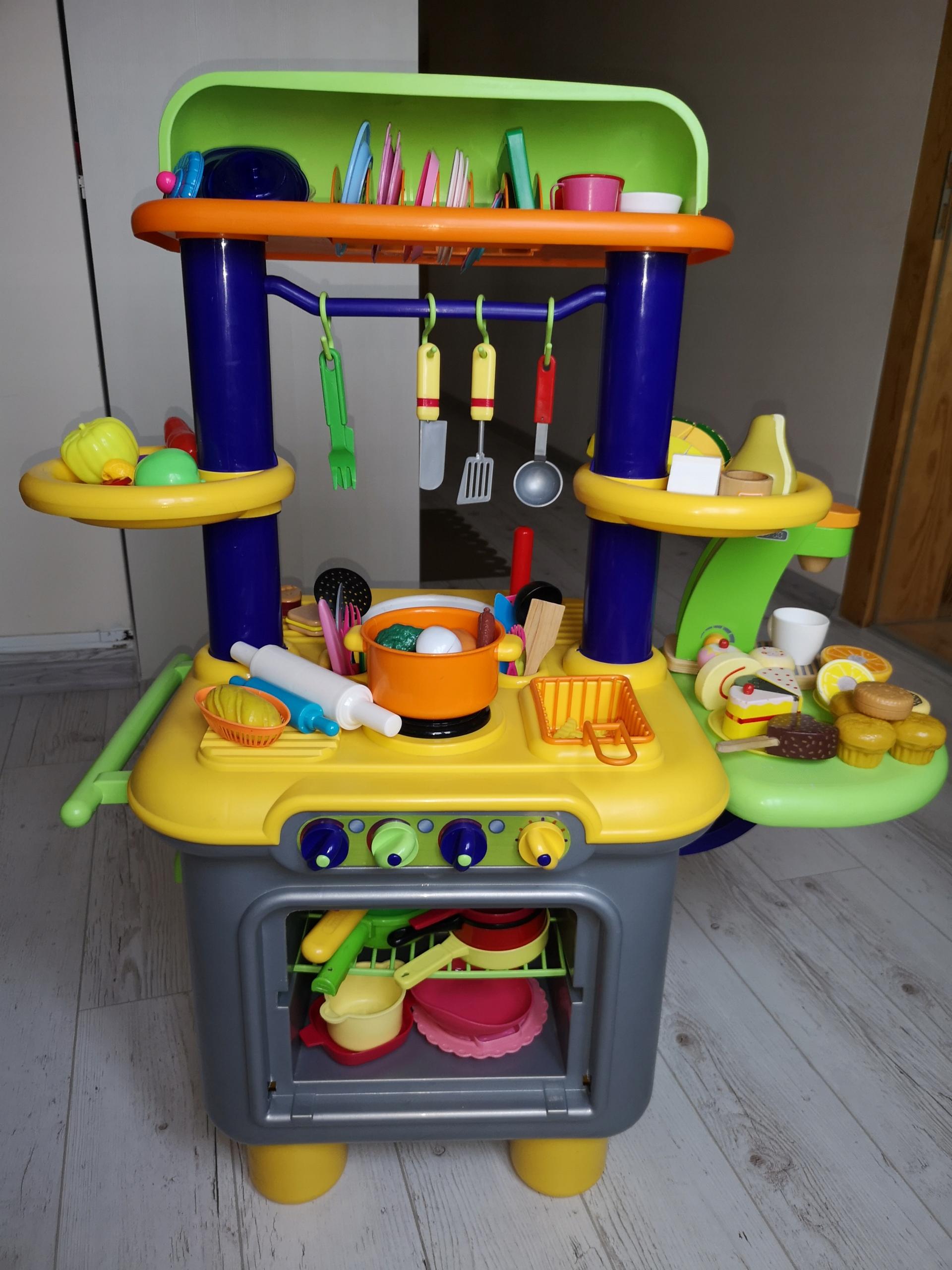 Kuchnia Grająca Dla Dzieci Do Zabawy Akcesoria