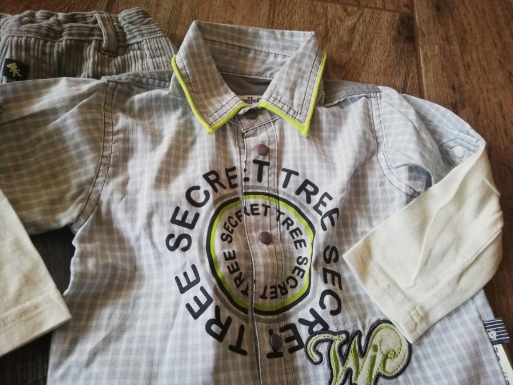 Wójcik 86 spodnie koszula