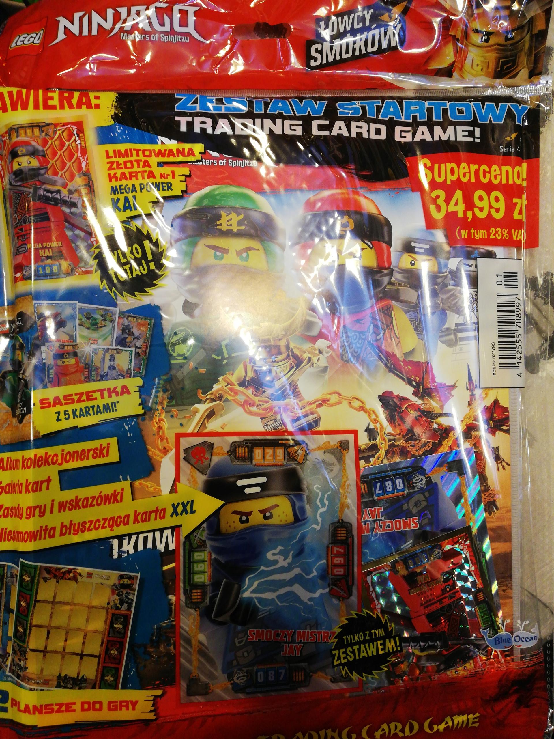 Wspaniały Lego Ninjago Zestaw startowy album Łowcy smoków - 7801285865 QO19