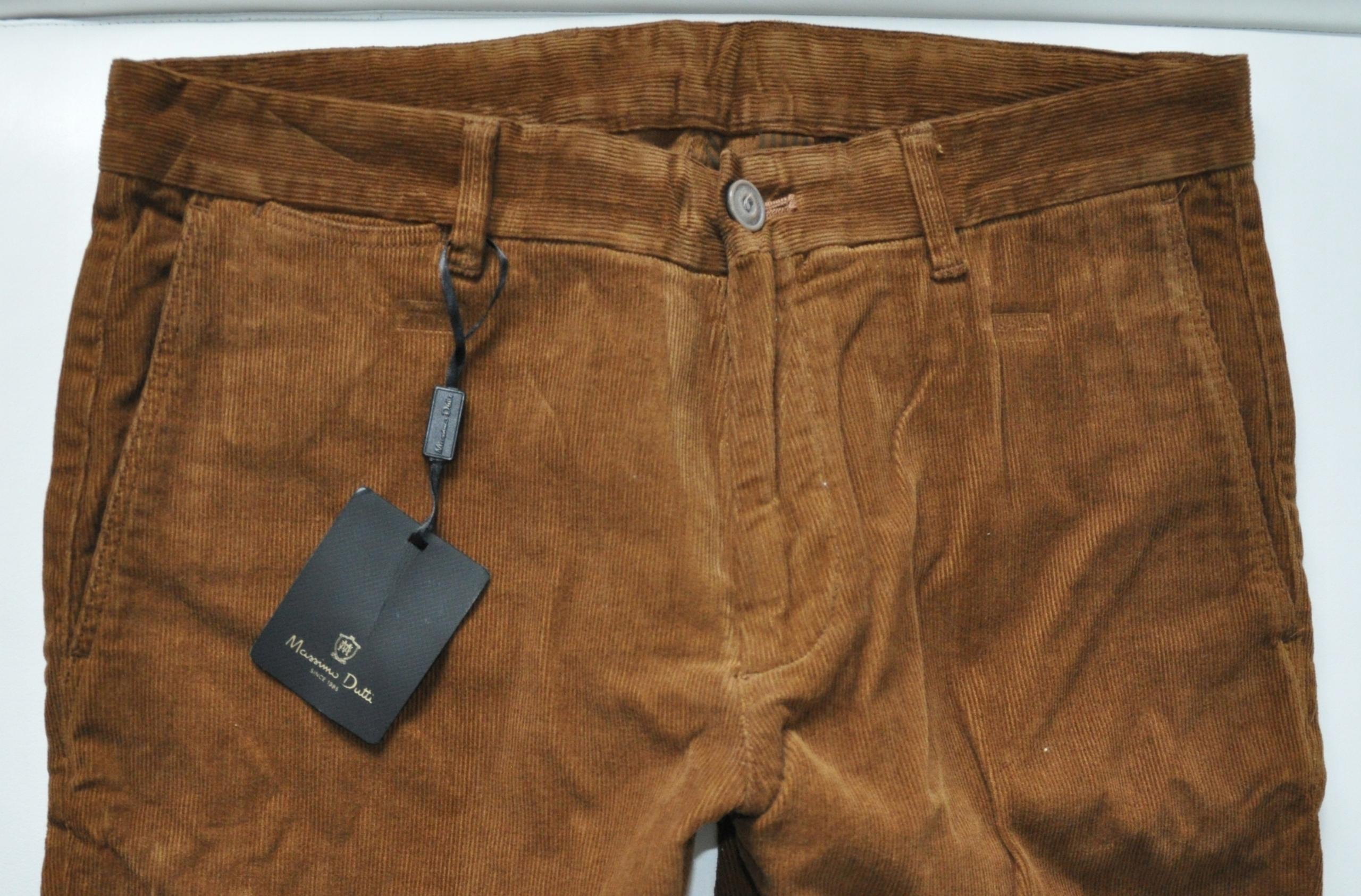 Brązowe spodnie firmy Massimo Dutti rozmiar 38