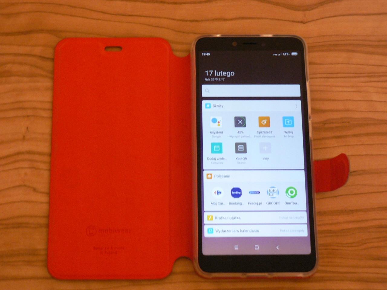 Telefon XIAOMI REDMI S2 3/32 B20 Dual Sim Futerał