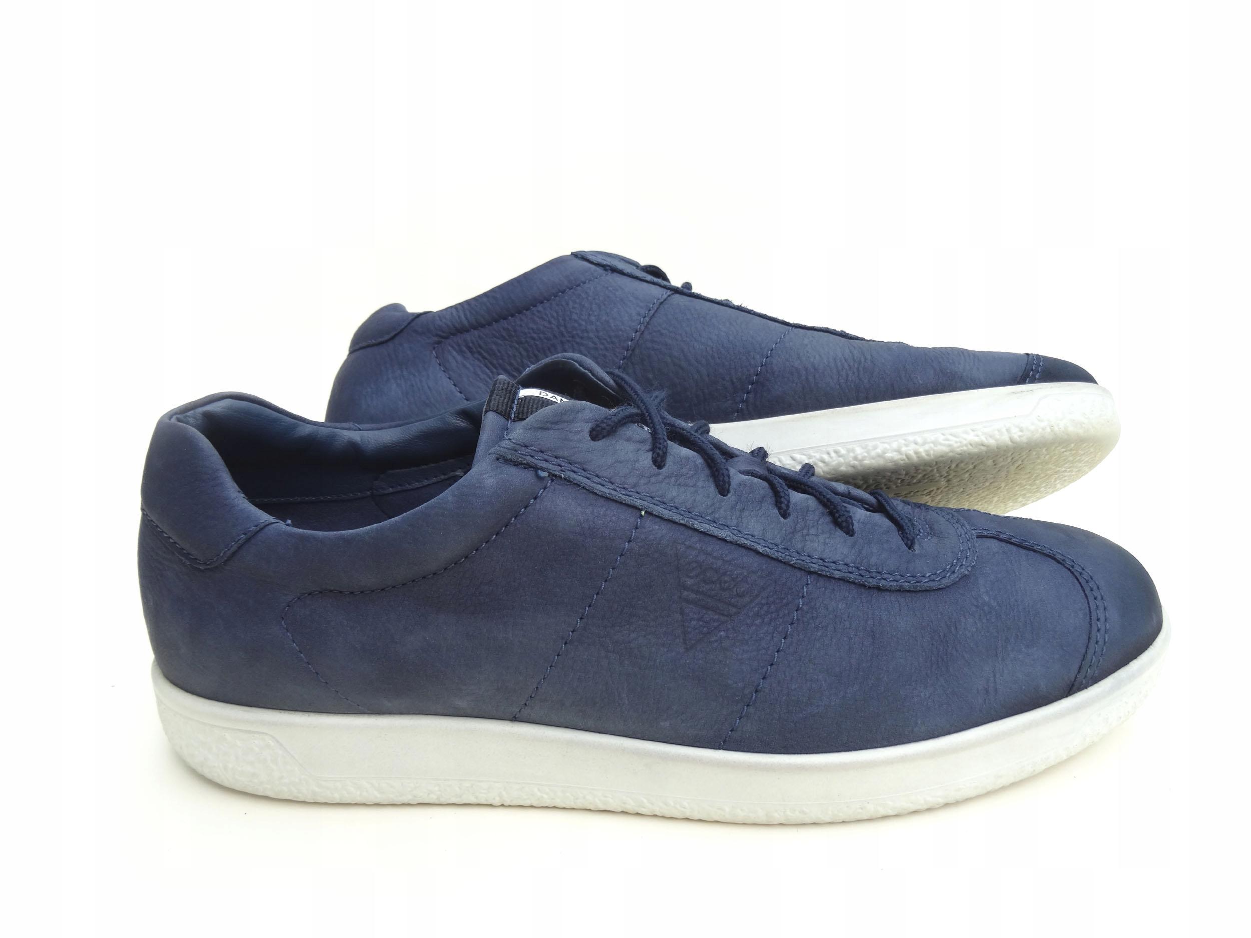 ECCO SOFT 1 DANISH DESIGN Sneaker półbuty BDB 44