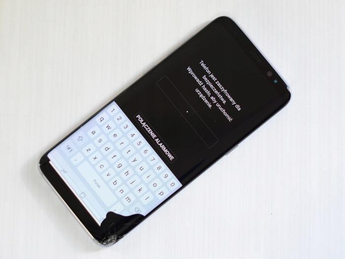100% ORG SAMSUNG Wyświetlacz Galaxy S8 G950F lcd