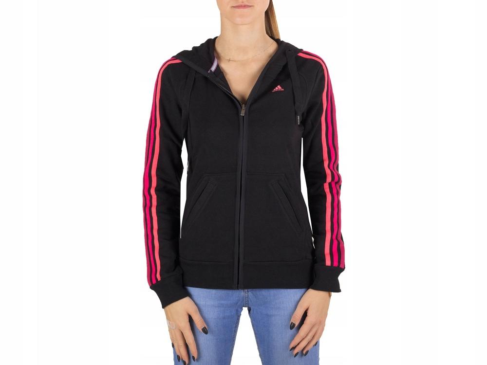 cała kolekcja stabilna jakość nowy autentyczny Bluza Adidas damska rozpinana W63744 Treningowa - 7687917797 ...