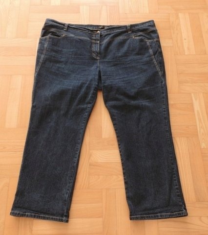Spodnie Dżinsowe w Pasie 130cm