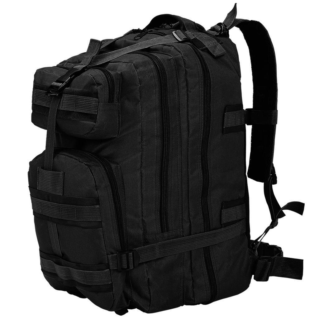 Plecak w stylu wojskowym, 50 L, czarny GXP-683115